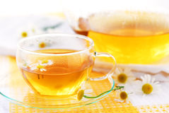 Camomile tea Royalty Free Stock Photography