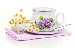 Camomile tea Royalty Free Stock Photos