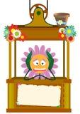 Camomilla triste nell'elevatore royalty illustrazione gratis
