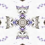 Camomille tropicale de kaléidoscope de batik Photographie stock