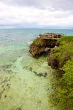 camotes海岛海岸线 免版税库存图片