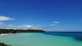 Camotes White Sand Beach 07 stock footage