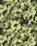 Camouflage à la mode de Digital sans couture Image stock