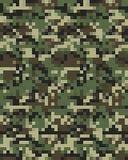 Camouflage à la mode de Digital sans couture Photo stock