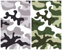 Camouflage 1 Royalty Free Stock Image