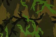Camouflage. Texture of green army camouflage Royalty Free Stock Photo