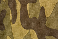 Camouflage. Fragment of cloth for camouflage Royalty Free Stock Image