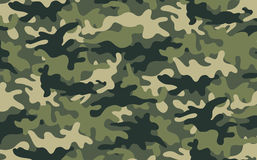 Camouflage. Vector illustration of green khaki camouflage pattern