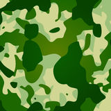 Camouflage. In traditional swampy green and beige. AI vector. Size and color can be changed Royalty Free Stock Photography