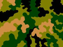 Camouflage. Protective background, clothes for the soldier Royalty Free Stock Image