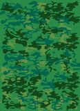 Camouflage. Army camouflage texture in green colors Royalty Free Stock Photography