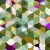 Camouflage abstract background of colored triangles. Camouflage background of colored triangles stock illustration