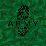 Camouflage army Royalty Free Stock Images