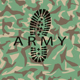 Camouflage army Stock Images