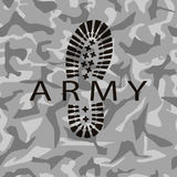 Camouflage army Stock Photos