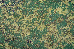 Camouflage army texture Stock Photography