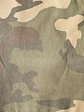 Camouflage background. A Camouflage pattern textile background Stock Images