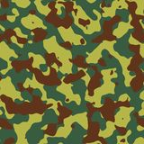 Camouflage background. Abstract tileable camouflage background / texture Royalty Free Stock Images