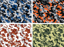 Camouflage. Background of army camouflage pattern Stock Photo