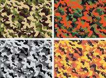 Camouflage. Background of army camouflage pattern Stock Photos