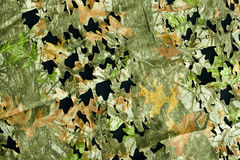 Camouflage background pattern. Leaf and bark camouflage pattern for background use Stock Images