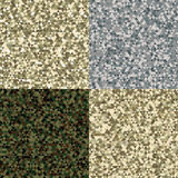 Camouflage backgrounds Stock Photos