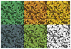 Camouflage backgrounds Royalty Free Stock Images