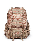 Camouflage backpack Royalty Free Stock Image