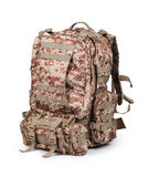 Camouflage backpack Royalty Free Stock Photography