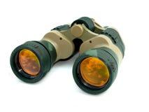 Camouflage Binoculars Stock Image