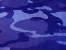Camouflage bleu. Photos libres de droits