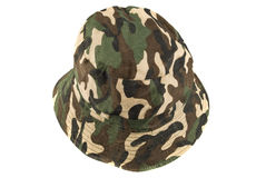 Camouflage cap Stock Photo