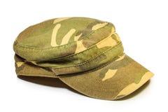 Camouflage cap Stock Image