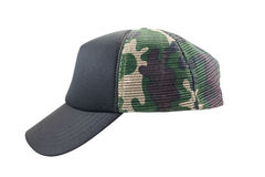 Camouflage cap isolated on white background Royalty Free Stock Photography