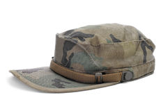 Camouflage cap Royalty Free Stock Photos