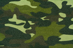 Camouflage cloth Royalty Free Stock Image