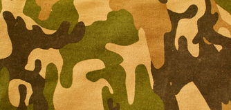 Camouflage  Cloth and Background Stock Images