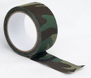 Camouflage cloth tape Stock Photography