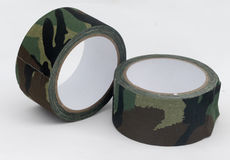 Camouflage cloth tape Royalty Free Stock Photo