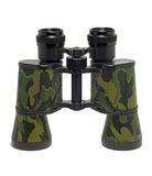 Camouflage colored binoculars Royalty Free Stock Photo