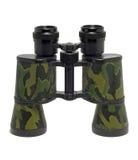 Camouflage colored binoculars Royalty Free Stock Photo