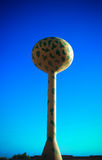 Camouflage coloring water tower Karbala Iraq Royalty Free Stock Photo