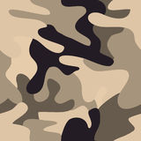 Camouflage commando army seamless pattern. Stock Photo