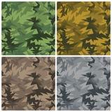 Camouflage de barre de fraction Illustration de Vecteur