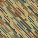 Camouflage de Digital Couleur en bois Configuration sans joint de vecteur Images stock