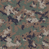 Camouflage de Digitals Images stock