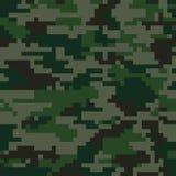 Camouflage de pixel de Digital Image libre de droits