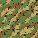 camouflage deseniowy bezszwowego Fotografia Royalty Free