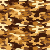 Camouflage for disguise in the desert, seamless pattern Royalty Free Stock Images