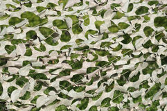 Camouflage fabric. Military camouflage tent as background image Royalty Free Stock Photography